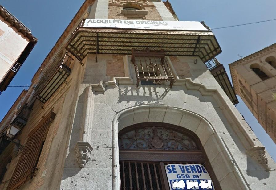 façade de l'ancien casino prochainement converti en mosquée.