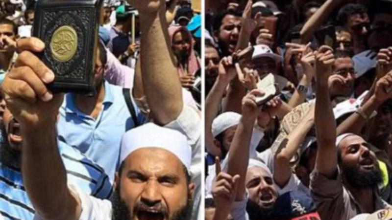 Les égyptiens plébiscitent la charia orthodoxe et criminelle.