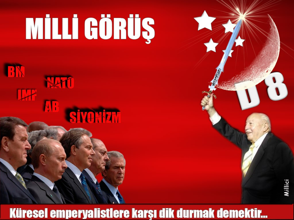 Affiche Milli Gorus Mpi