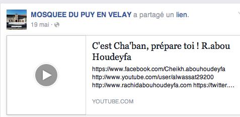 Rachid Hudeyfa lui veut interdire la musique