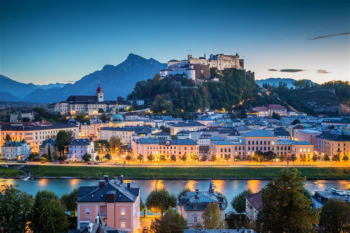Salzbourg, Autriche.