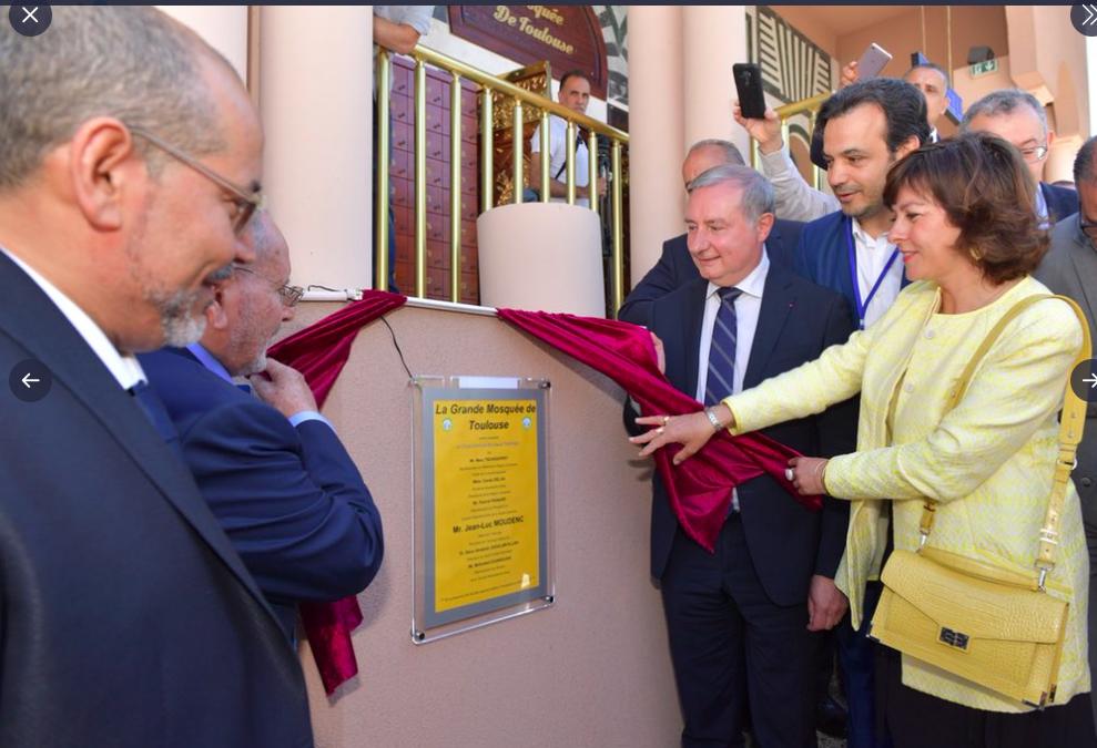 Inauguration de la Grande Mosquée de Toulouse : l'imâm algérien vante le califat pour la «communauté supérieure»