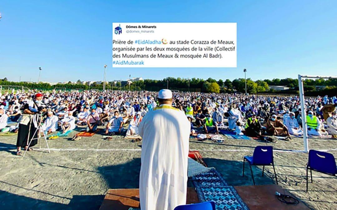 Jean-François Copé, maire Républicain, met son stade municipal pour la prière musulmane de l'Aid