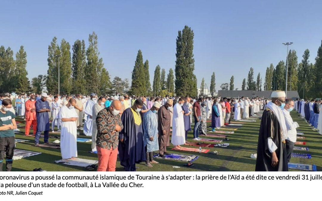 «2.000 musulmans ont investi deux terrains du centre de formation du Tours FC»