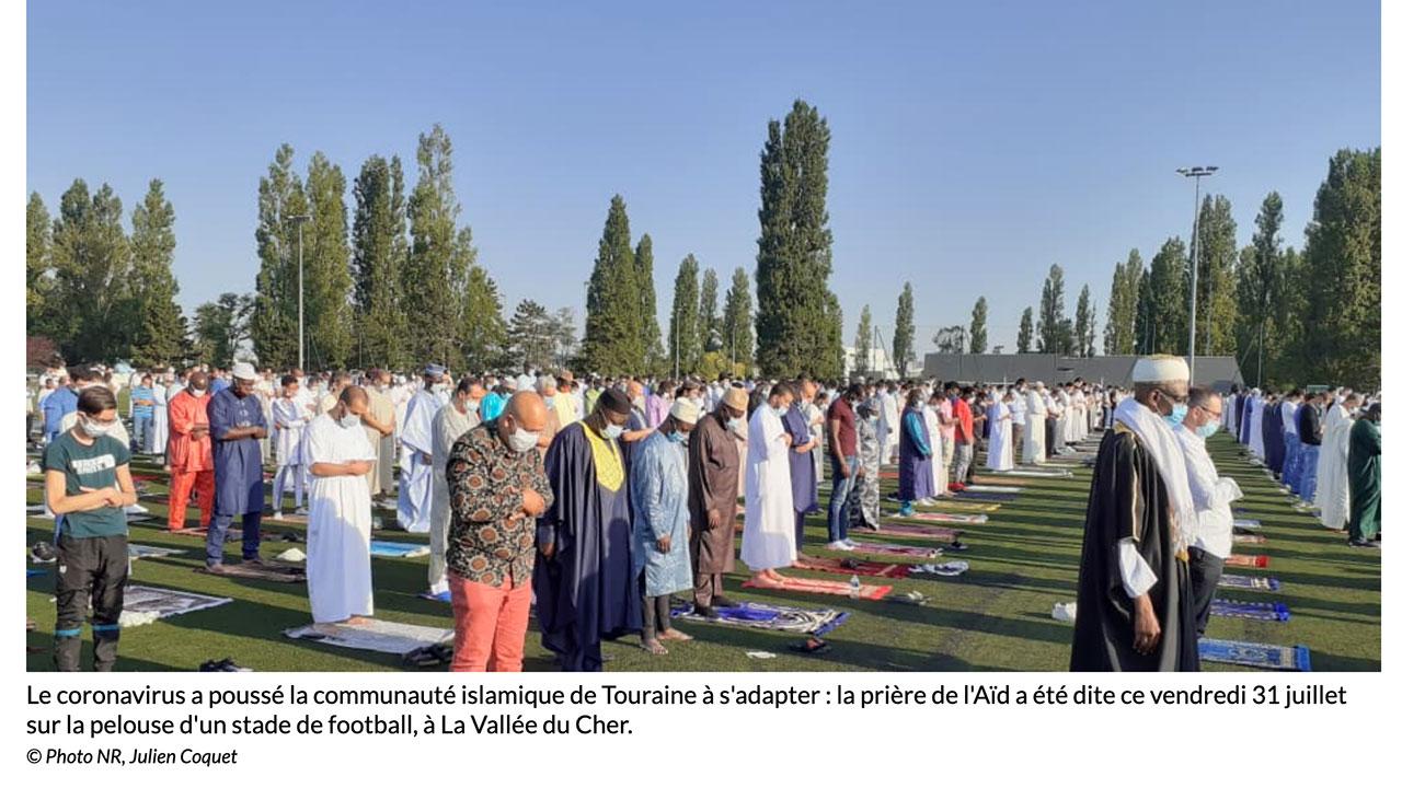 """""""2.000 musulmans ont investi deux terrains du centre de formation du Tours FC"""""""