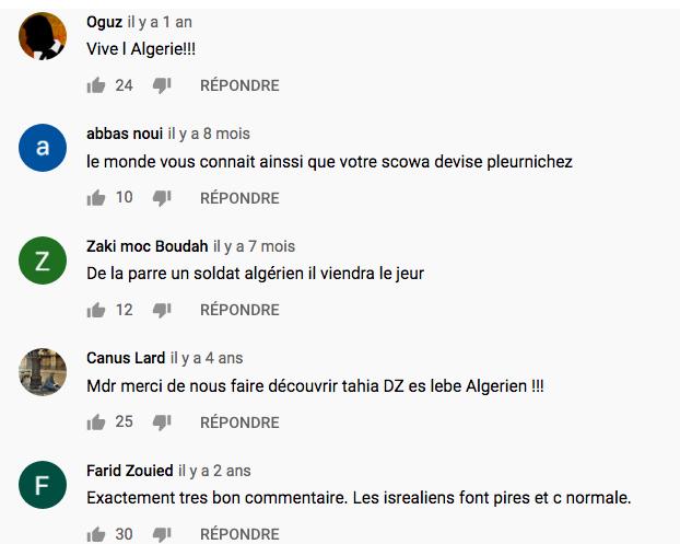 Des gendarmes algériens défilent en chantant « Tuez les Juifs », approbation des algériens sur les réseaux sociaux