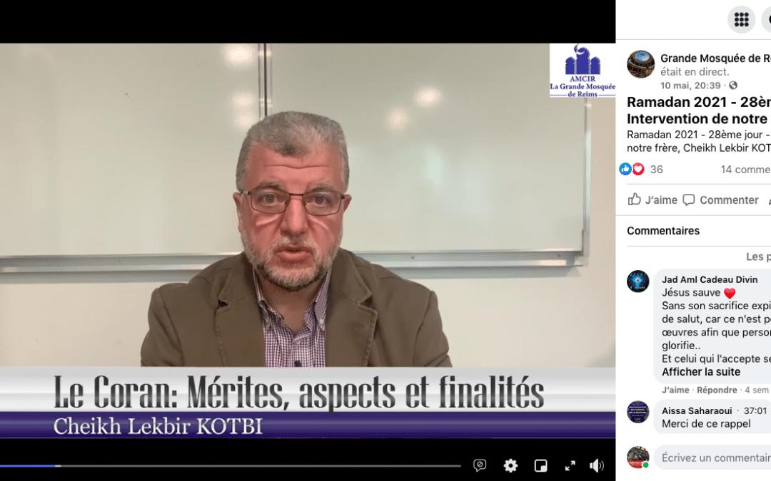 Liberté religieuse SAUF en cas de «diffusion de sa mécréance» à la Grande mosquée de Reims